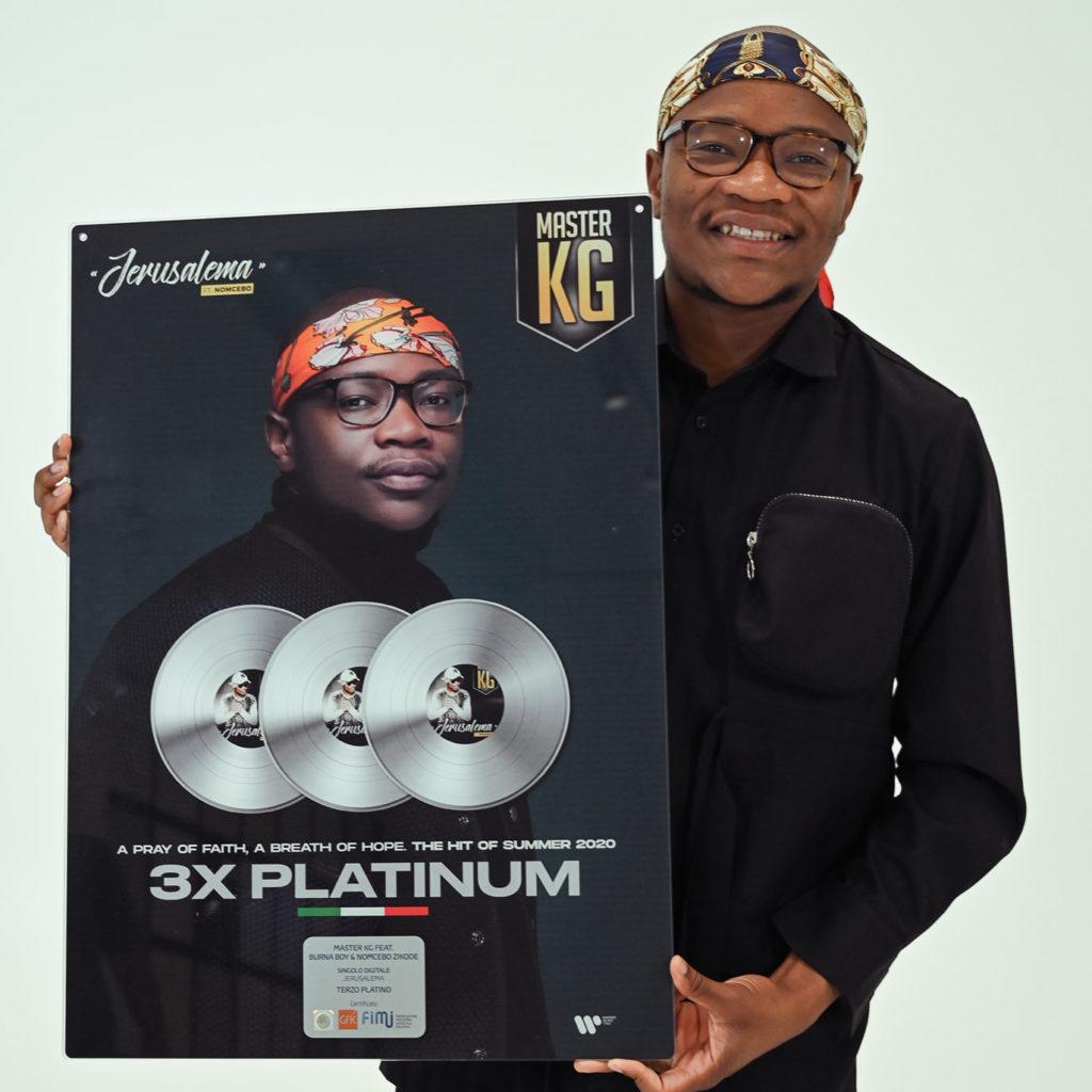 Master KG platinum